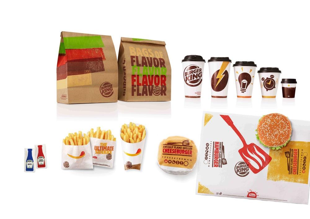 BK complete packaging range