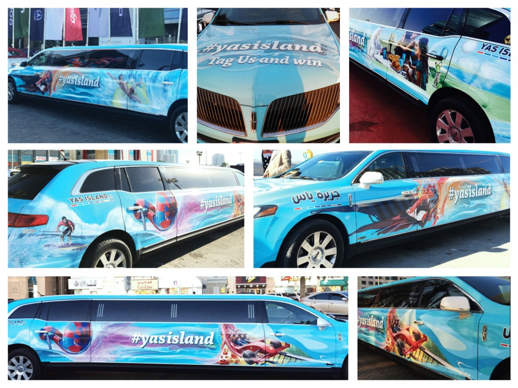 limo- Yas limo activation -lava brands