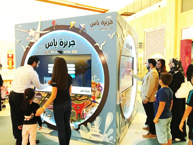 Digital Activation For Yas Island Amp Yas Mall Hub Lava Brands